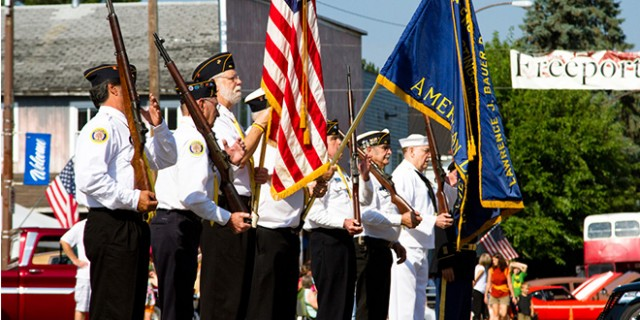 Honor Guard Salute to our Veterans