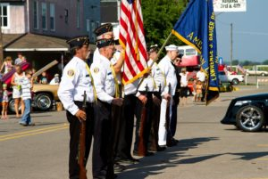 Parade - Honoring Military and Veterans